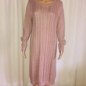 The Limited cable knit sweater dress